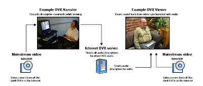 Flow chart of the DVX Recording process